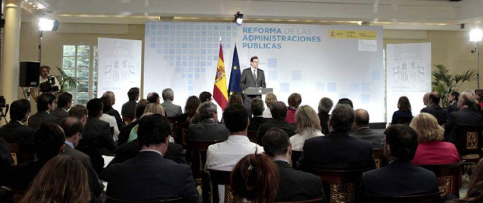 Foto: Rajoy propone una reforma de la Administración que depende de la buena voluntad de las CCAA