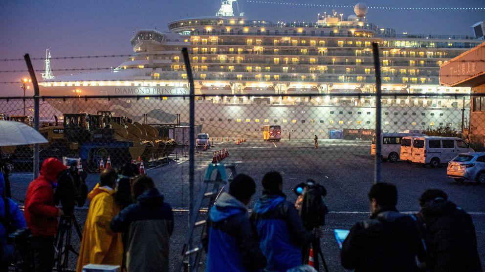 Cuarenta estadounidenses dan positivo por coronavirus en un crucero en Japón
