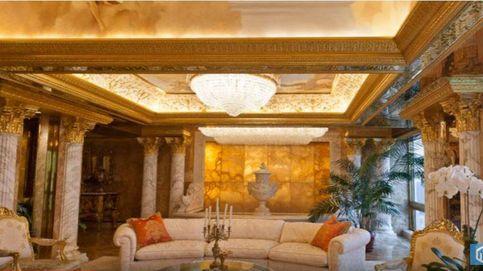El ático de lujo de Trump y Melania en la Trump Tower
