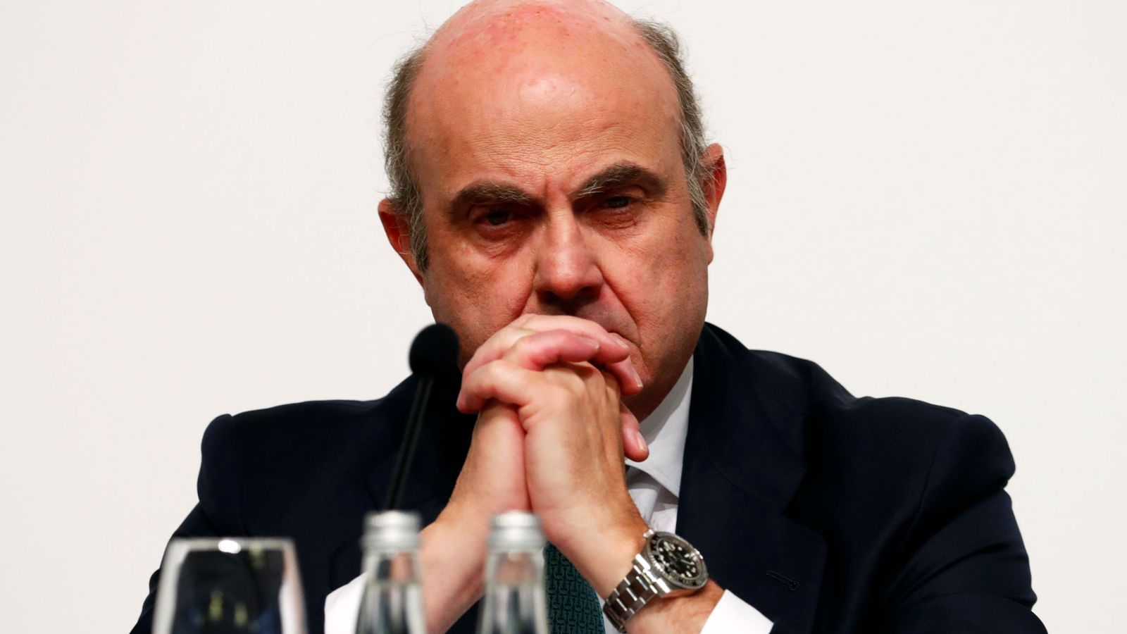 Foto: Luis de Guindos. (Reuters)