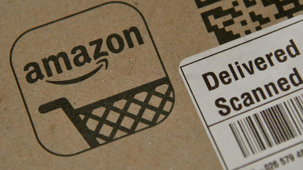 Foto: Imagen de recurso de un paquete de Amazon | Reuters