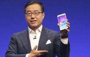 Samsung curva el destino de sus 'phablets'