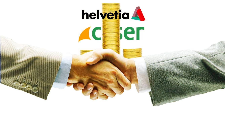 La banca aflorará plusvalías de hasta 350 M con la venta de Caser a Helvetia