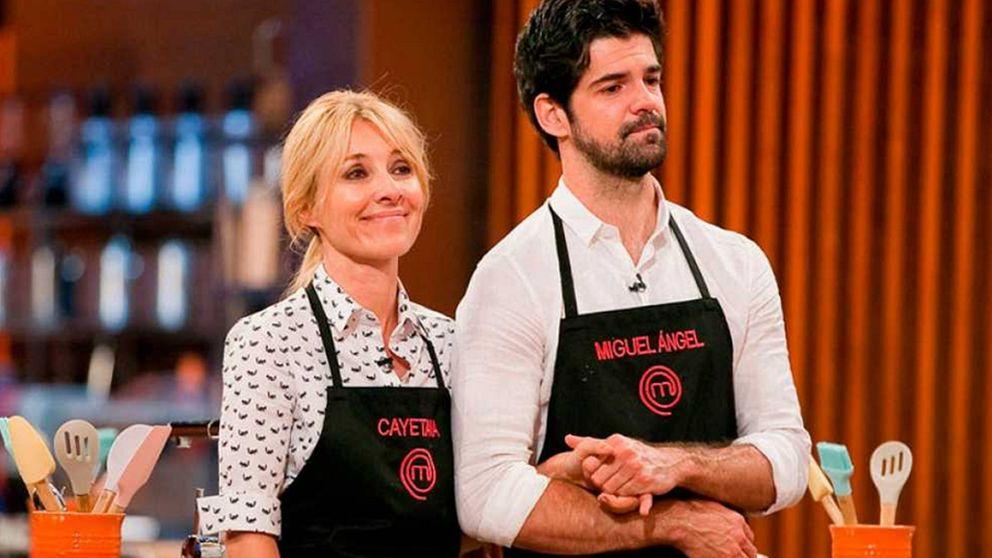 Cayetana Guillén Cuervo y Miguel Ángel rompen a llorar en 'MasterChef'