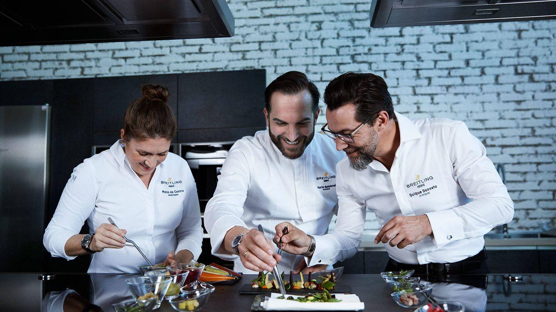 Quique da Costa, Maca de Castro y Mario Sandoval, las estrellas del tiempo y la cocina