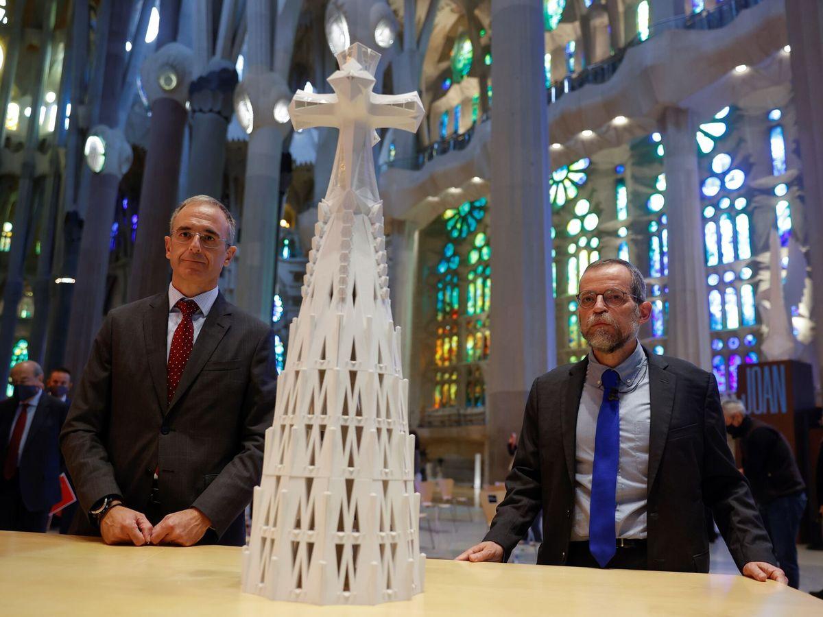 Foto: La sagrada familia prevé recuperar en 2024 las cifras de visitantes precovid. (EFE)
