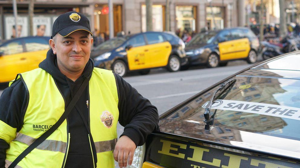 Tito, el ariete de la guerrilla urbana del taxi que ha colapsado Barcelona