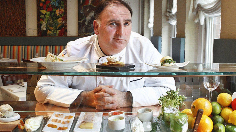 Foto: José Andrés, ganador del Premio a la Cultura Gastronómica.