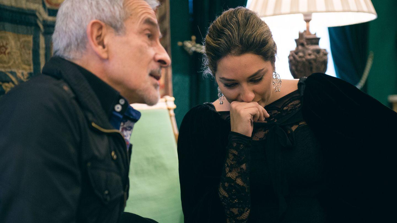 Víctor Ullate y Estrella Morente durante la entrevista con El Confidencial (Daniel Muñoz)
