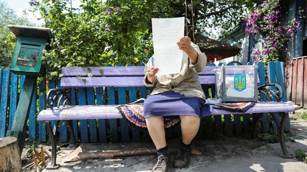 Foto: Elecciones en Ucrania. (Reuters)