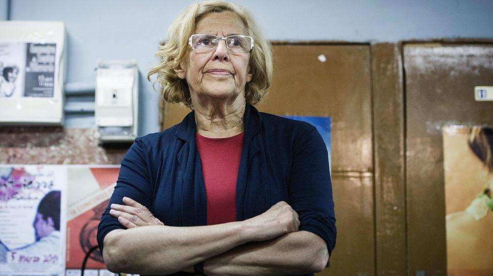 Foto: Manuela Carmena es candidata a la Alcaldía de Madrid. (EFE)