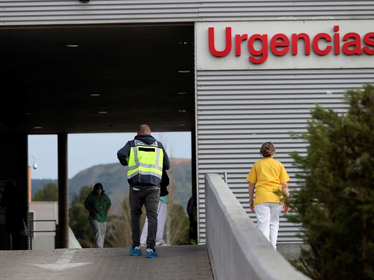 Foto: Urgencias del hospital Príncipe de Asturias de Alcalá de Henares, Madrid. (EFE)