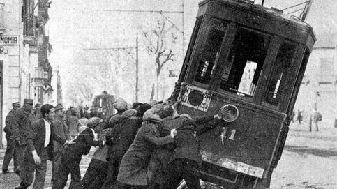 Huelgas, guerra y conflictos: la historia convulsa del tranvía de Barcelona