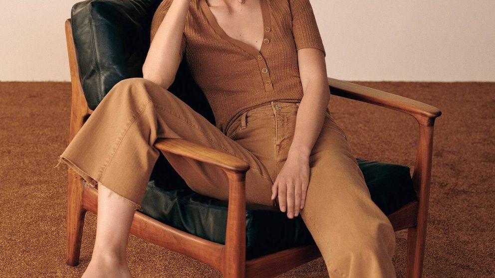 Dile sí a estos pantalones anchos de Mango Outlet y tendrás un armario trendy