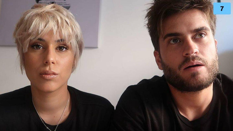Bea y Rodri anunciando su crisis de pareja. (Mediaset España)