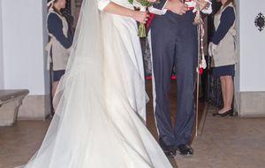 La duquesa de Alba, la gran ausente de la boda sevillana del hijo de Carmen Tello