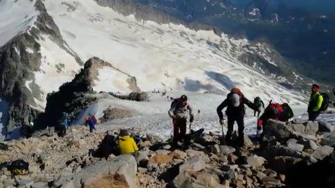 Las aglomeraciones en el pico del Aneto suponen un riesgo para la seguridad