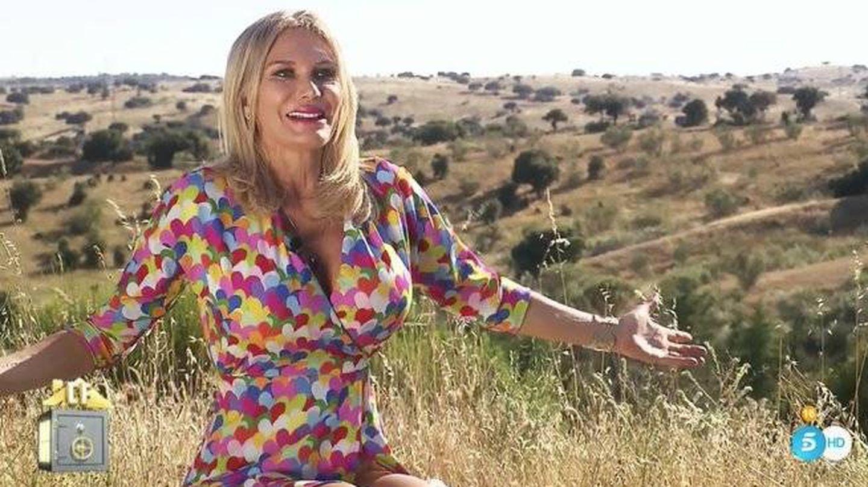 Yola Berrocal, en 'La casa fuerte'. (Telecinco)