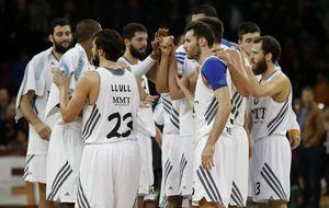 El Madrid, en su 24º triunfo, homenajea al Bilbao Basket
