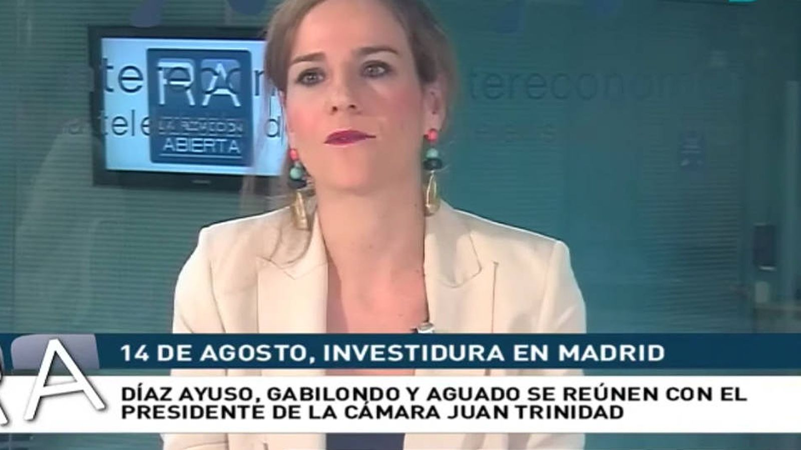 Foto: Isabel Pérez Moñino, en una entrevista en 'La redacción abierta de la tarde'. (Toro.TV)