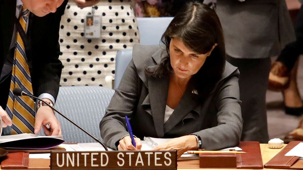 Foto: Nikki Haley. (Reuters)