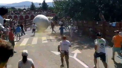 Los boloencierros de Mataelpino dejan al alcalde herido en su último día