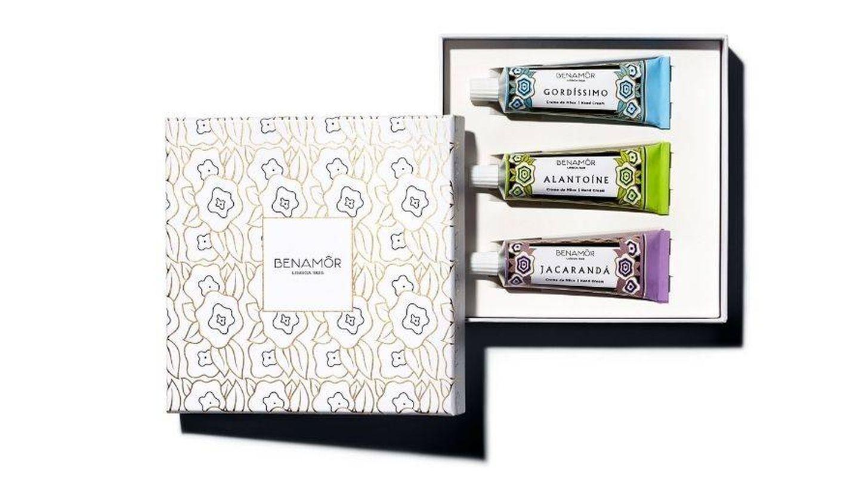 Hand Cream Gift Set, de Benamôr (21 €). En Laconicum.