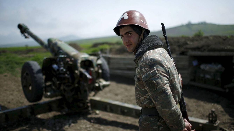 Foto: Un soldado armenio en una imagen de archivo. (Reuters)