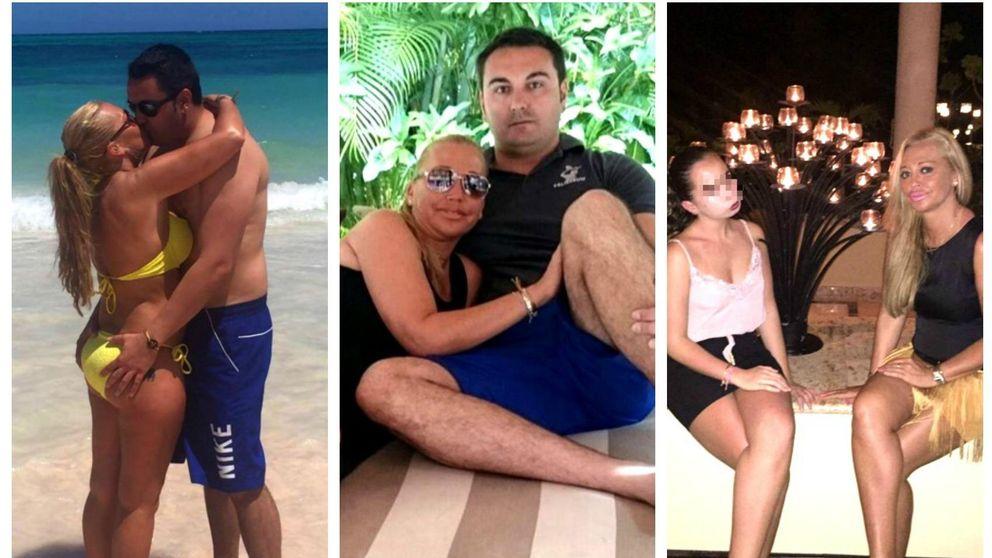 Las vacaciones caribeñas de Belén Esteban, con Miguel y su Andreíta