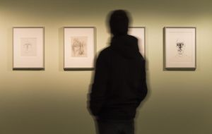La mirada atormentada de Giacometti se convierte en una bamba rellena de nata