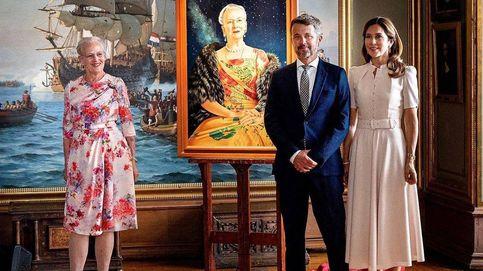 Federico y Mary celebran (con retraso) el cumpleaños de la reina Margarita