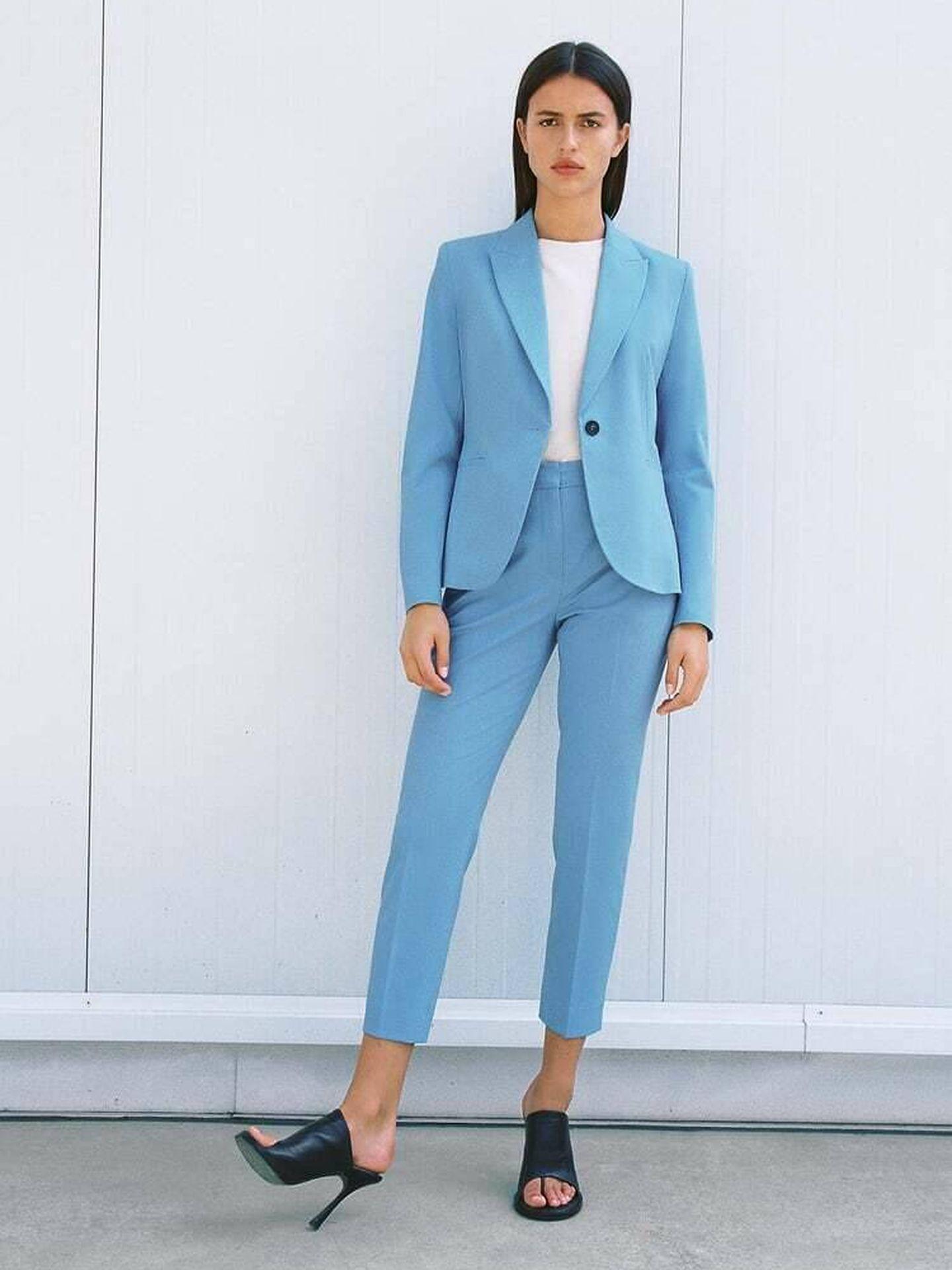 La blazer de Zara. (Cortesía)