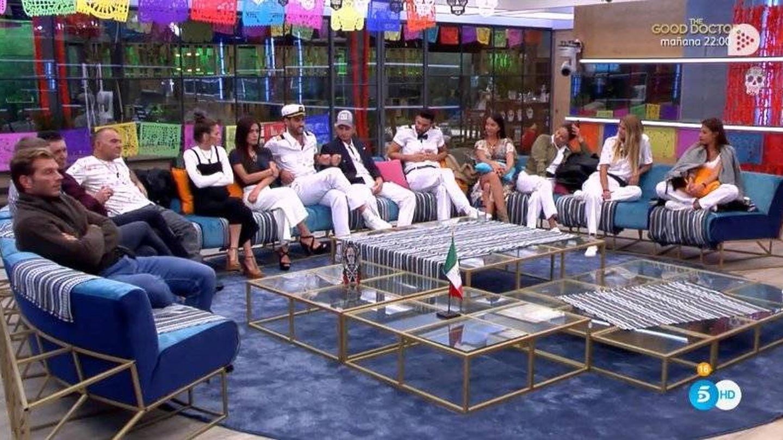 Jorge Javier abronca a todos los concursantes de 'GH VIP 6'. (Telecinco)