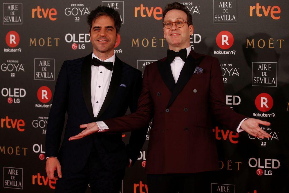 Foto: Ernesto Sevilla y Joaquín Reyes en la alfombra roja (Reuters)