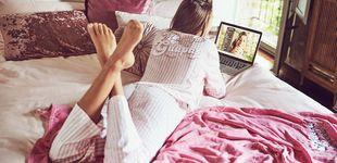 Post de Los planes caseros serán más estilosos y divertidos con estos pijamas de Women'secret y de La Vecina Rubia