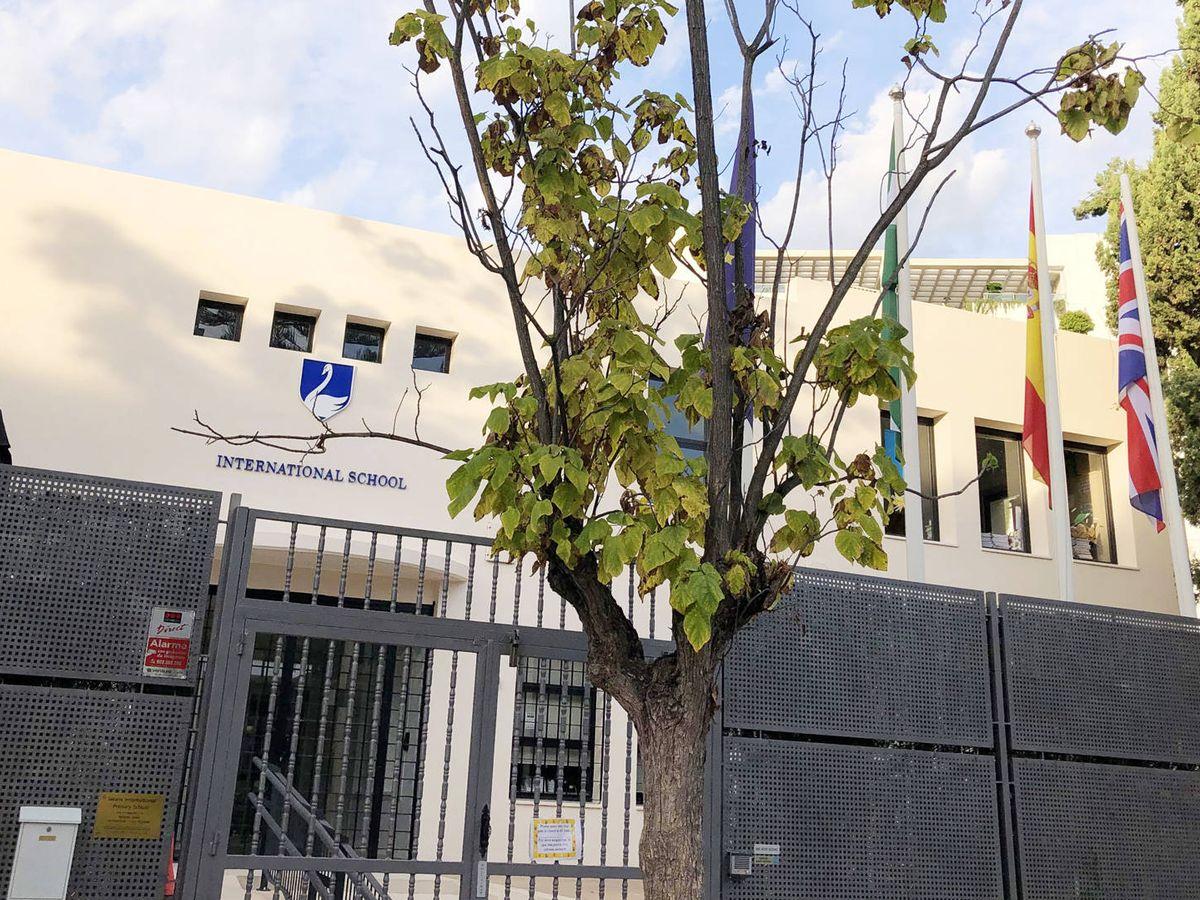 Foto: El colegio Swans International, en Marbella. (A. de la Gama)