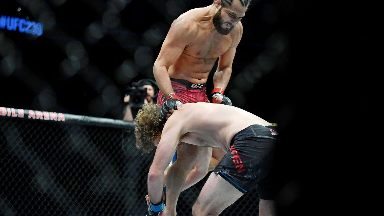 Foto: Jorge Masvidal contra Ben Askren en UFC 239. (USA TODAY Sports)