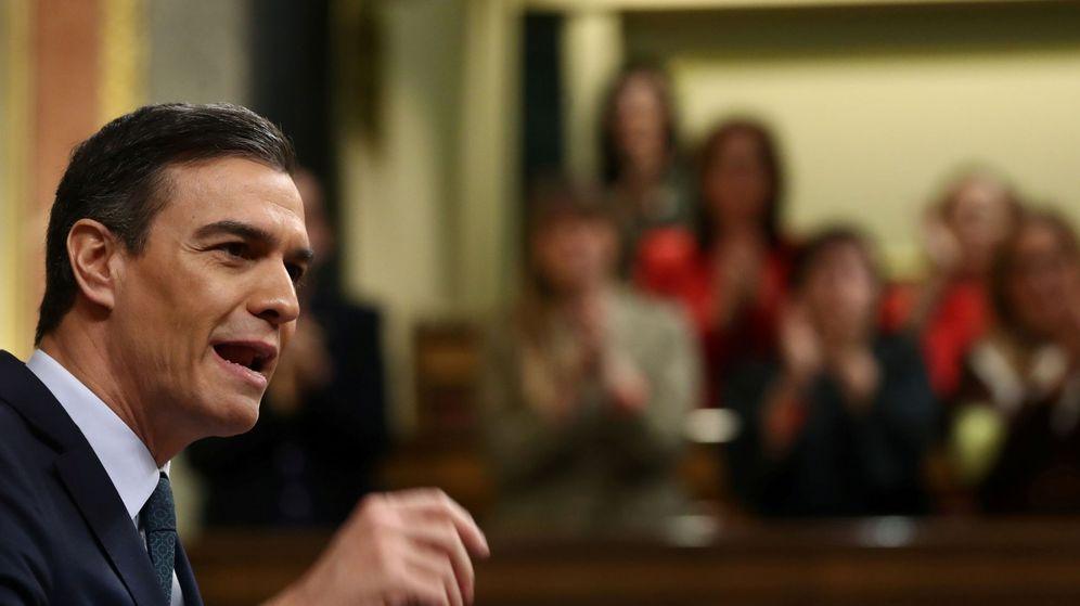 Foto: Pedro Sánchez, el pasado 5 de enero en el Congreso. (EFE)