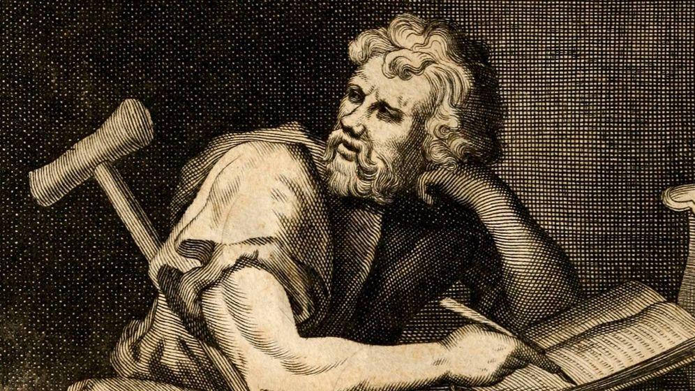 Foto: Grabado representando a Epicteto, una de las figuras más importantes del pensamiento estoico
