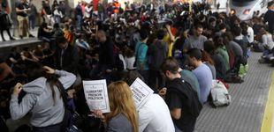 Post de Así viví la huelga 'indepe' en un AVE que intentaba llegar a Sants