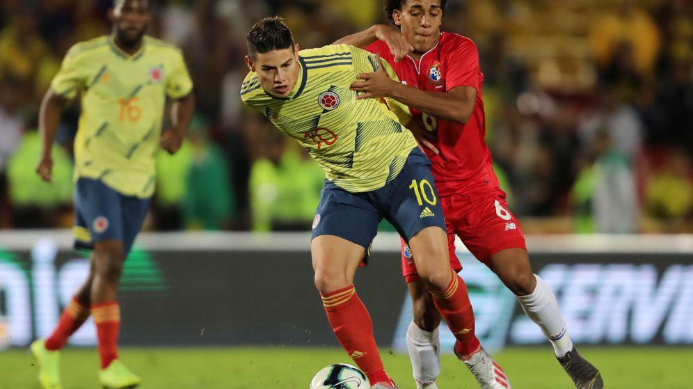 Foto: James Rodríguez está concentrado con la selección de Colombia para disputar la Copa América. ((Reuters)
