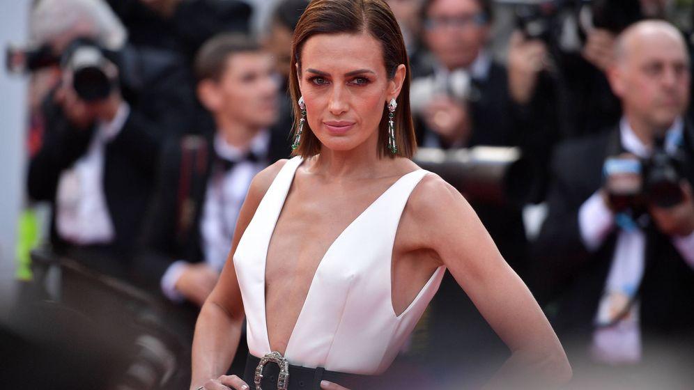 Foto: Nieves Álvarez recientemente en Cannes. (Getty)