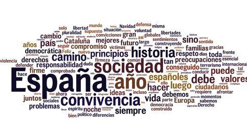 De España a corrupción: estas son las palabras citadas por Felipe VI en su discurso