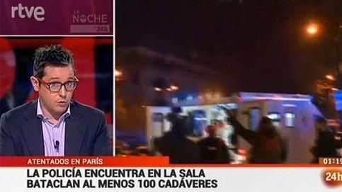 Lluvia de estrellas mediáticas en París tras el apagón informativo del viernes