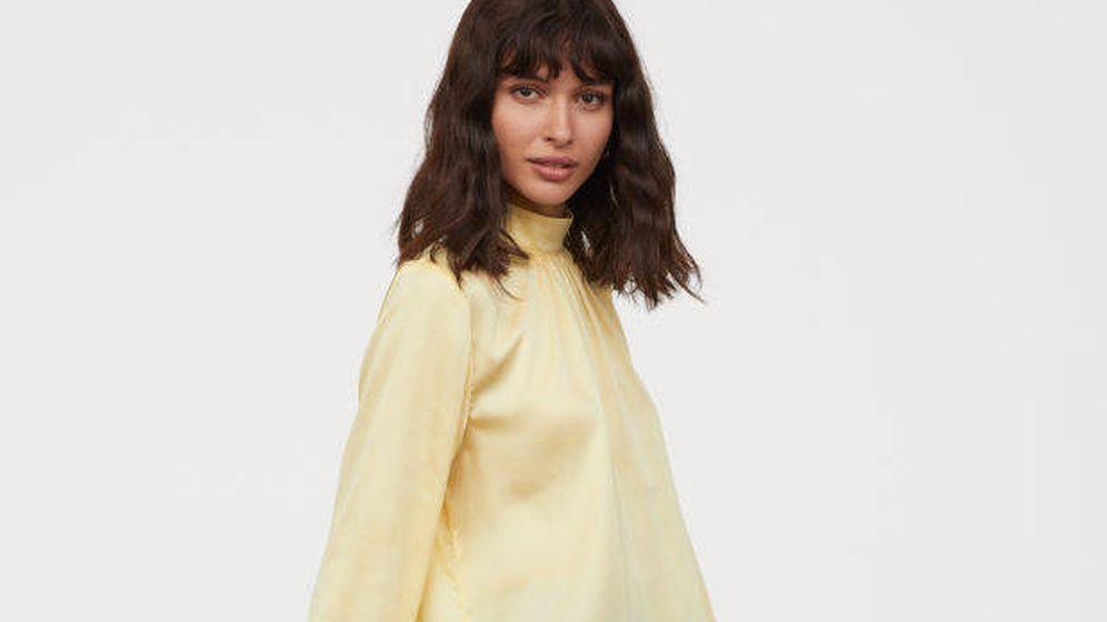 Foto: Blusa satinada de H&M.