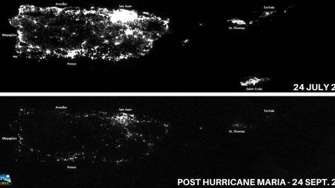 Medio año de oscuridad: la foto de Puerto Rico antes y después del huracán María