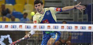 Post de La magia de Franco Stupaczuk para alcanzar la final del Gran Canaria Open