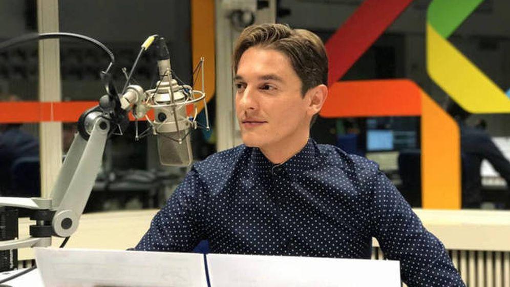 Foto: Xavi Martínez, locutor y juez de 'Objetivo Eurovisión'