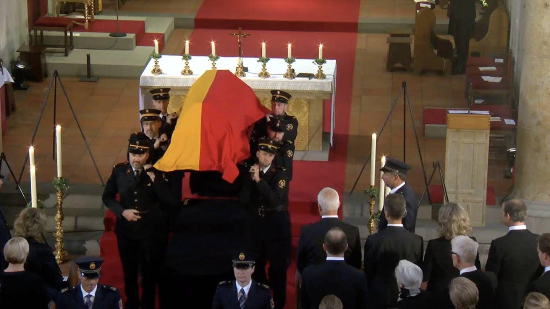 El final del funeral. (Landeskanal.li)