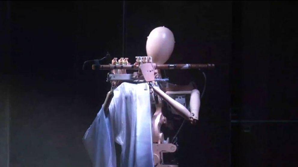 Una orquesta clásica compuesta por robots hace su debut en China